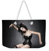 Black Widow Marionette Puppet  Weekender Tote Bag