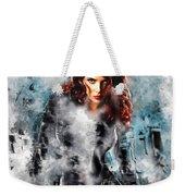 Black Widow Scarlett Johansson Weekender Tote Bag