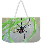Black Widow Wheel Weekender Tote Bag by Al Powell Photography USA