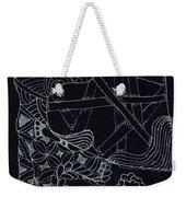 Black Zen 4 Weekender Tote Bag