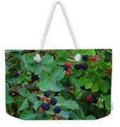 Blackberries 1 Weekender Tote Bag