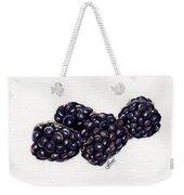 Blackberries Weekender Tote Bag