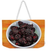 Blackberries 134 Weekender Tote Bag
