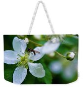 Blackberry Bzzzzz Weekender Tote Bag