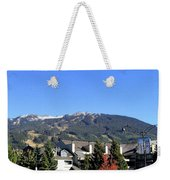 Blackcomb Mountain Weekender Tote Bag