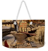 Blacksmith - Anvil And Hammer Weekender Tote Bag