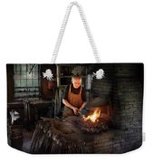 Blacksmith - Blacksmiths Like It Hot Weekender Tote Bag by Mike Savad