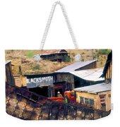 Blacksmith, Ghost Town, Jerome, Az. Weekender Tote Bag