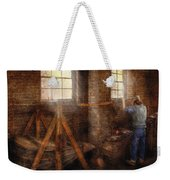 Blacksmith - It's Getting Hot In Here Weekender Tote Bag by Mike Savad