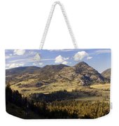 Blacktail Road Landscape Weekender Tote Bag