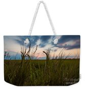 Blades Of Sunset Weekender Tote Bag