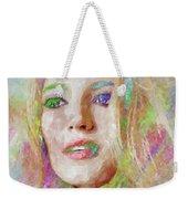 Blake Lively Watercolor Weekender Tote Bag