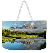 Blame It On The Tetons Weekender Tote Bag