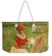 Blanche Hoschede Painting Weekender Tote Bag