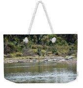 Blanco River - Texas Weekender Tote Bag