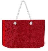 Blank Red Book Cover Weekender Tote Bag
