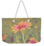 Blanket Flower Portrait Weekender Tote Bag