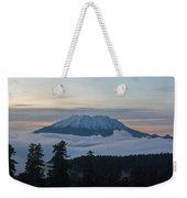 Blanket Of Fog Below Mount Saint Helens Weekender Tote Bag