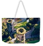 Blarney Castle Ruins In Ireland Weekender Tote Bag