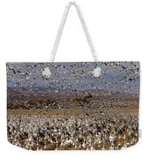 Blast Off Bosque Del Apache Weekender Tote Bag