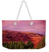 Blazing Autumn Weekender Tote Bag