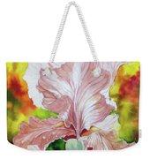 Blazing Iris Weekender Tote Bag