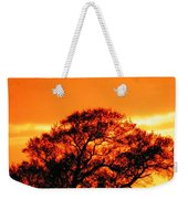 Blazing Oak Tree Weekender Tote Bag