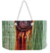 Bleeding Bolt Weekender Tote Bag