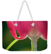 Bleeding Heart Macro Weekender Tote Bag