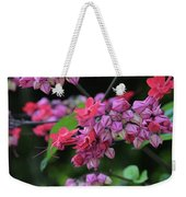 Bleeding Heart Vine Weekender Tote Bag