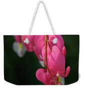 Bleeding Hearts Flowers Weekender Tote Bag