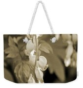 Bleeding Hearts In Sepia Weekender Tote Bag