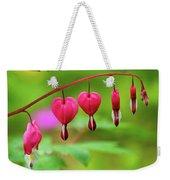 Bleeding Hearts - Lamprocapnos-spectabilis Weekender Tote Bag