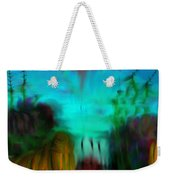 Lands Under The Sea - Abstract Landscape Weekender Tote Bag