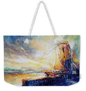 Blennerville Wind Mill Weekender Tote Bag