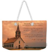 Bless The Lord Weekender Tote Bag
