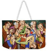 Blessed Is He Who Believes Without Seeing Weekender Tote Bag
