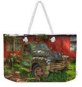 Blind In One Eye 1947 Chevy Flatbed Truck Art Weekender Tote Bag