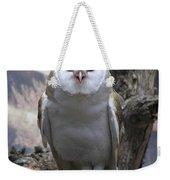 Blinking Owl Weekender Tote Bag