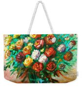 Blissful Blooms Weekender Tote Bag