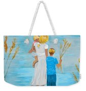 Blissful Day Weekender Tote Bag