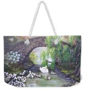 Blissful Morning Weekender Tote Bag