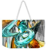 Blissfulness Abstract Weekender Tote Bag