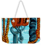 Block And Tackle Weekender Tote Bag