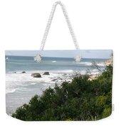 Block Island Sea Shore Weekender Tote Bag
