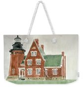 Block Island Southeast Lighthouse Weekender Tote Bag