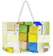 Blocks At Night Weekender Tote Bag