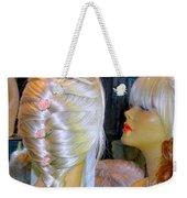 Blonde, Braids, Bangs And Beautiful Weekender Tote Bag