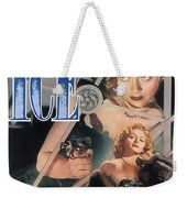 Blonde Ice Film Noir Weekender Tote Bag