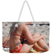 Blondie Braids Weekender Tote Bag